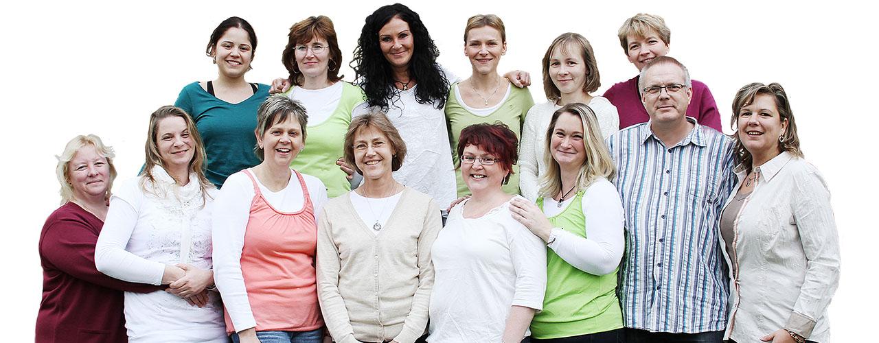 Das Team der Hauskrankenpflege Kathrin Herbst